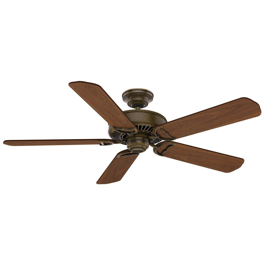 Casablanca 1-Pack Panama 54-in Aged Bronze Downrod or close mount Indoor Ceiling Fan ENERGY STAR