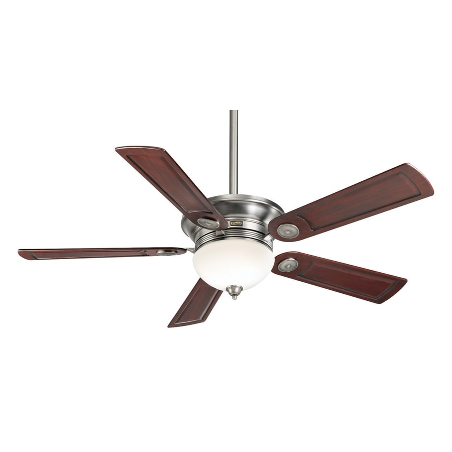 Casablanca Whitman 54-in Antique Pewter Downrod or Close Mount Indoor Ceiling Fan with Light Kit and Remote