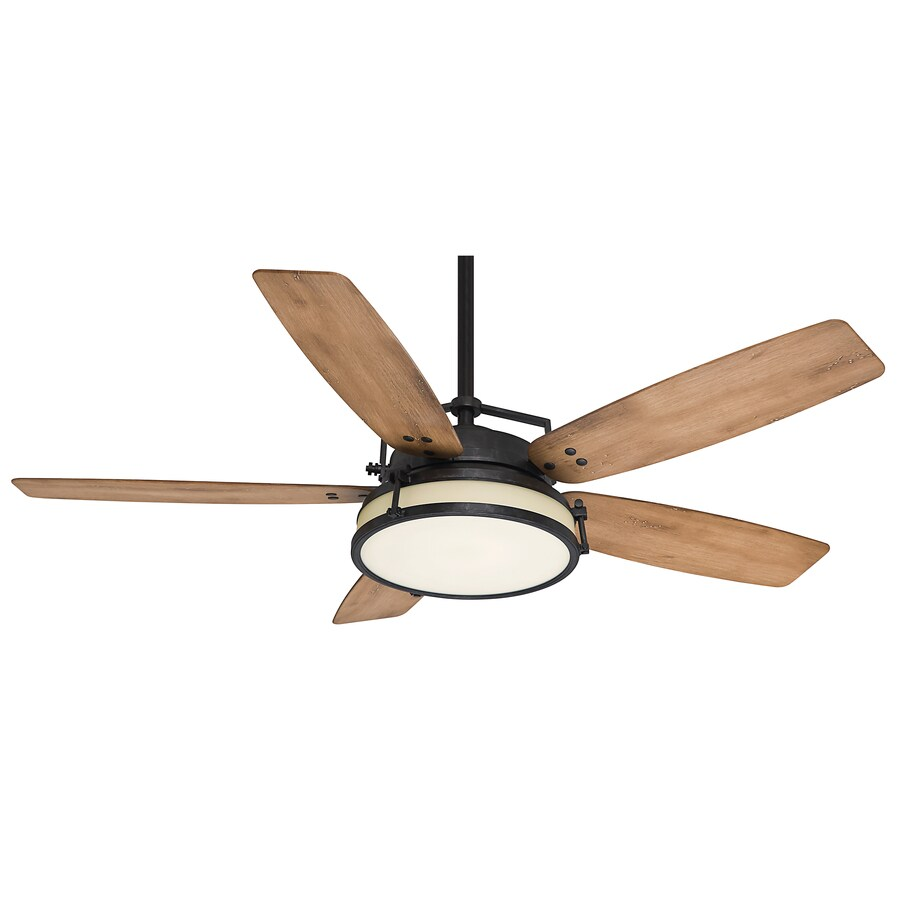 Casablanca Ceiling Fans : Shop casablanca caneel bay in aged steel indoor outdoor