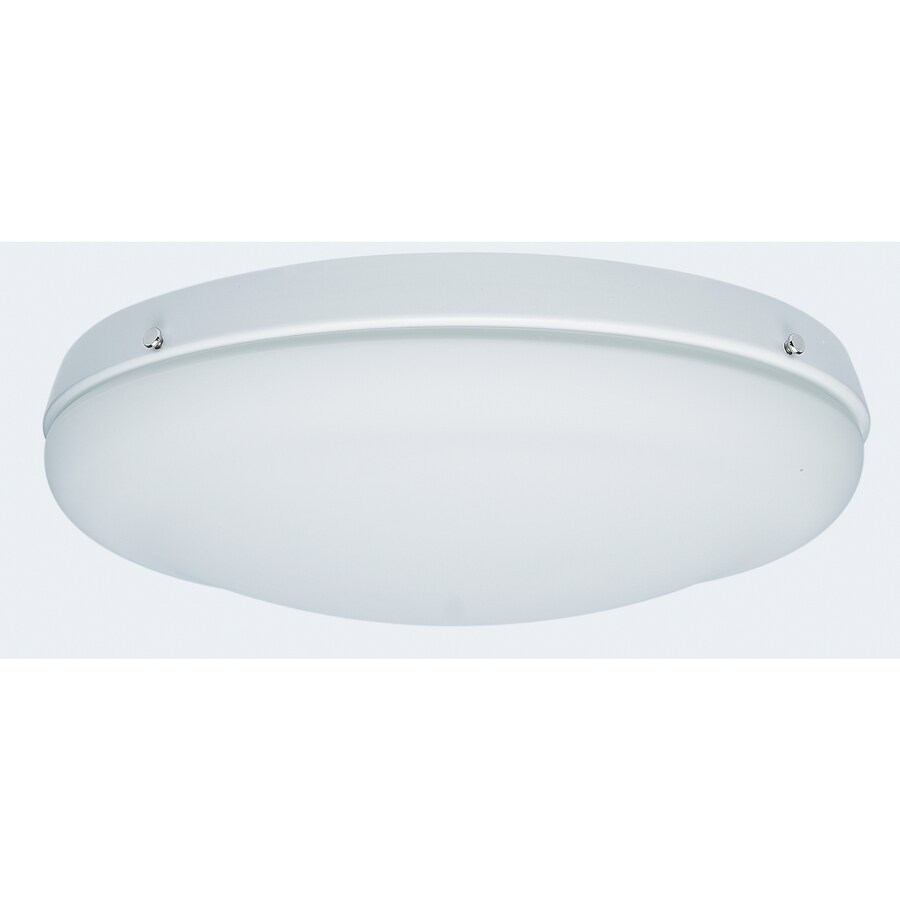Hunter Low Profile 2 Light White Incandescent Ceiling Fan
