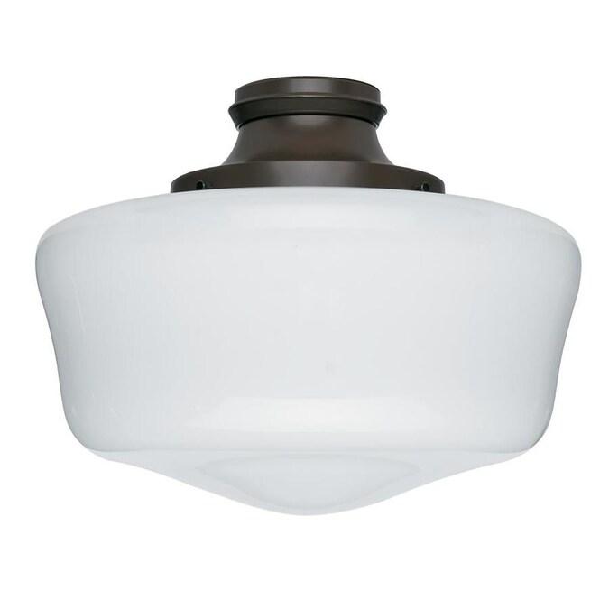 Hunter 1 Light Chestnut Brown Fluorescent Ceiling Fan Light Kit In The Ceiling Fan Light Kits