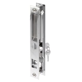 Prime Line 6.62 In Flush Mount Sliding Patio Door Handleset