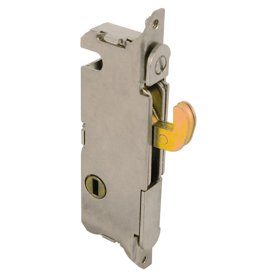 Prime-Line Sliding Glass Door Mortise Latch with Rounded Edge Face Plate