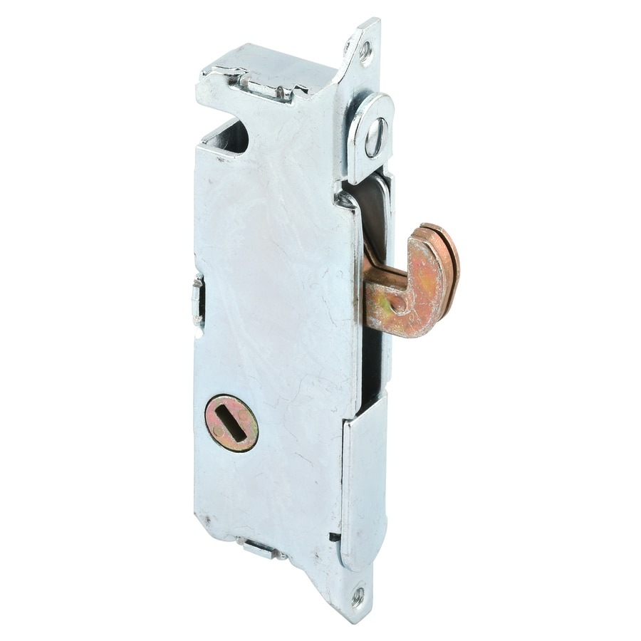 shop prime line sliding glass door mortise lock at lowes com