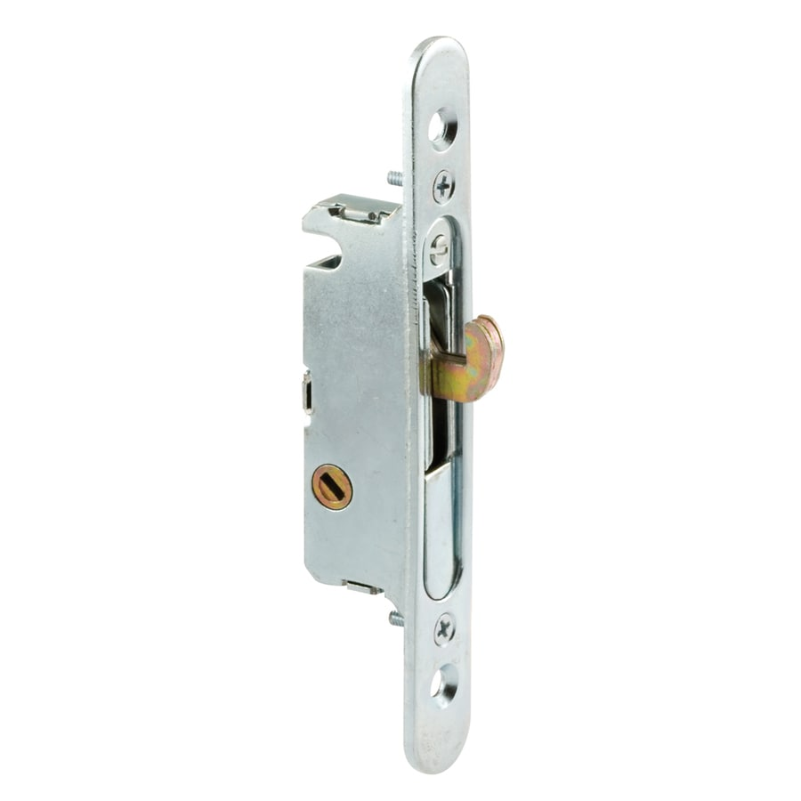 Prime Line Gray Stainless Steel Sliding Patio Door Mortise Lock