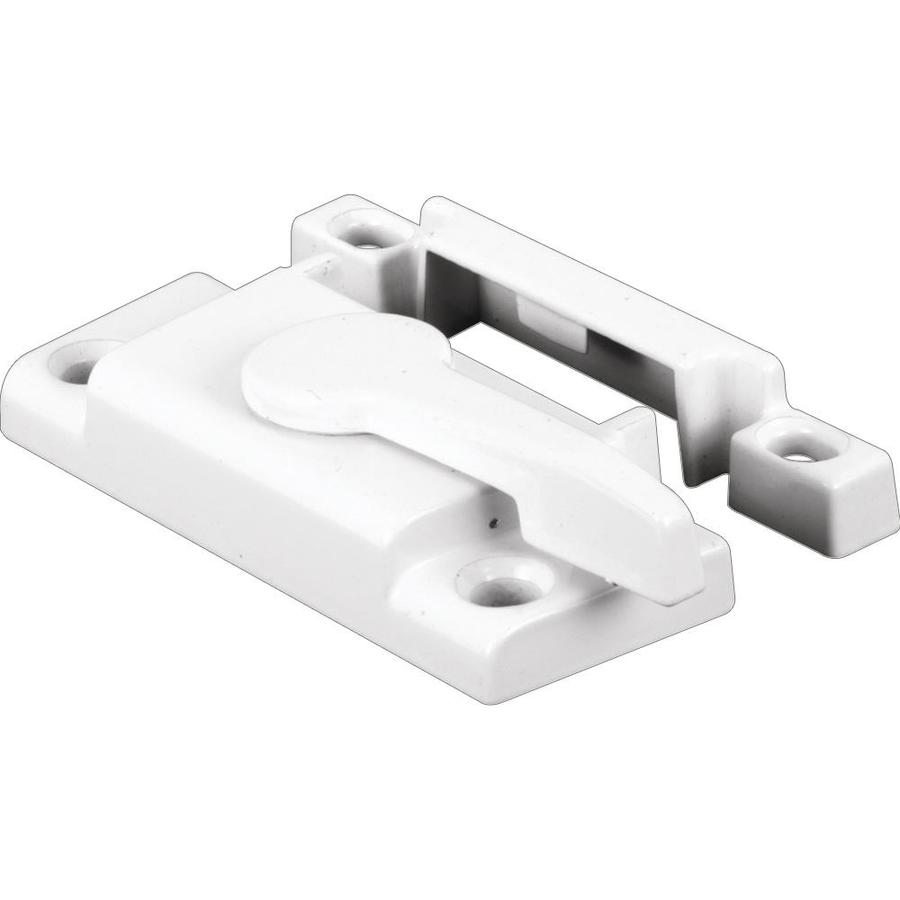 Prime-Line White Vertical Hung Window Latch