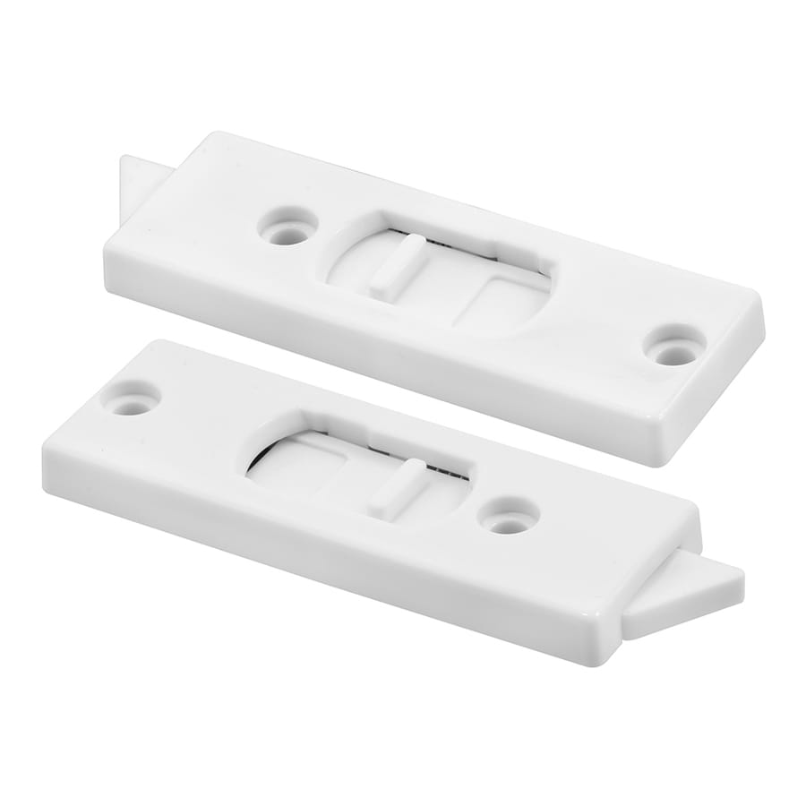 Prime-Line 2-Pack White Vertical Hung Vinyl Window Tilt Latches