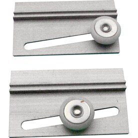 primeline 2pack 075in oval nylon bathtub and shower door roller