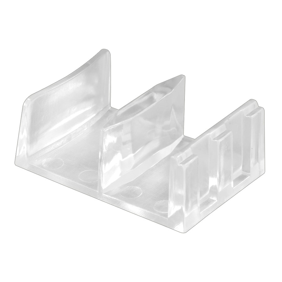 Prime-Line 2-Pack Sliding Tub Enclosure Bottom Guide
