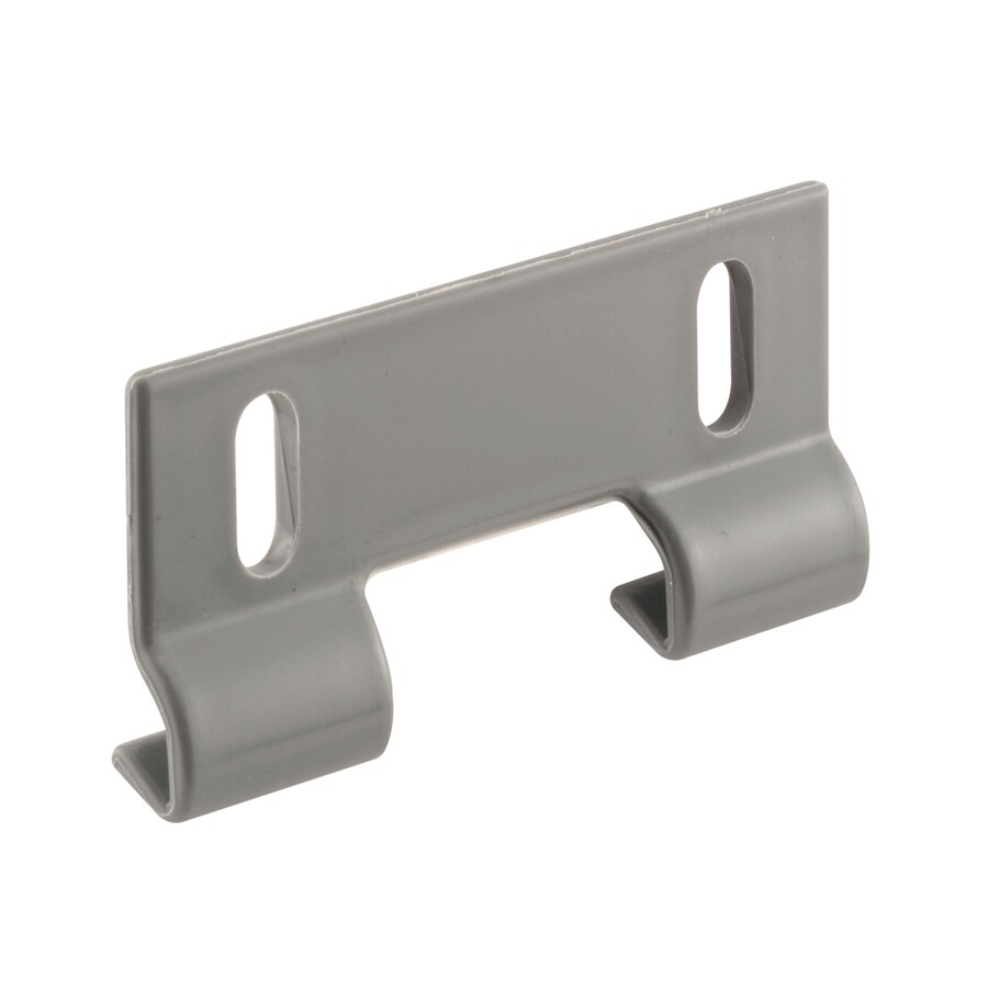 Shop bathtub shower door hardware at lowes prime line 2 pack 3 in gray bottom sliding shower door guide eventelaan Gallery