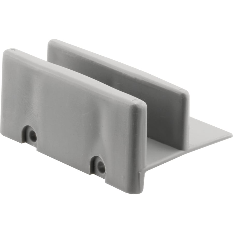 Prime Line 2 Pack 3 In Gray Bottom Sliding Shower Door