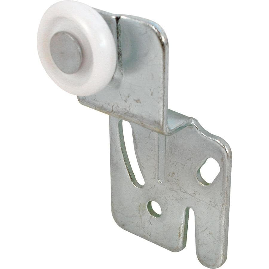 Prime Line 0 87 in Side and Top Mount Sliding Closet Door Roller Assembly. Shop Sliding Closet Door Rollers at Lowes com