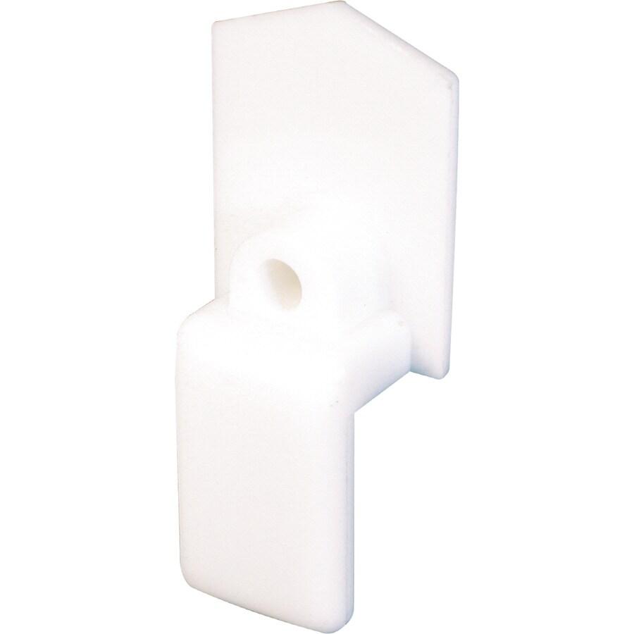 shop prime line 2 count bypass sliding closet door bottom guides at. Black Bedroom Furniture Sets. Home Design Ideas