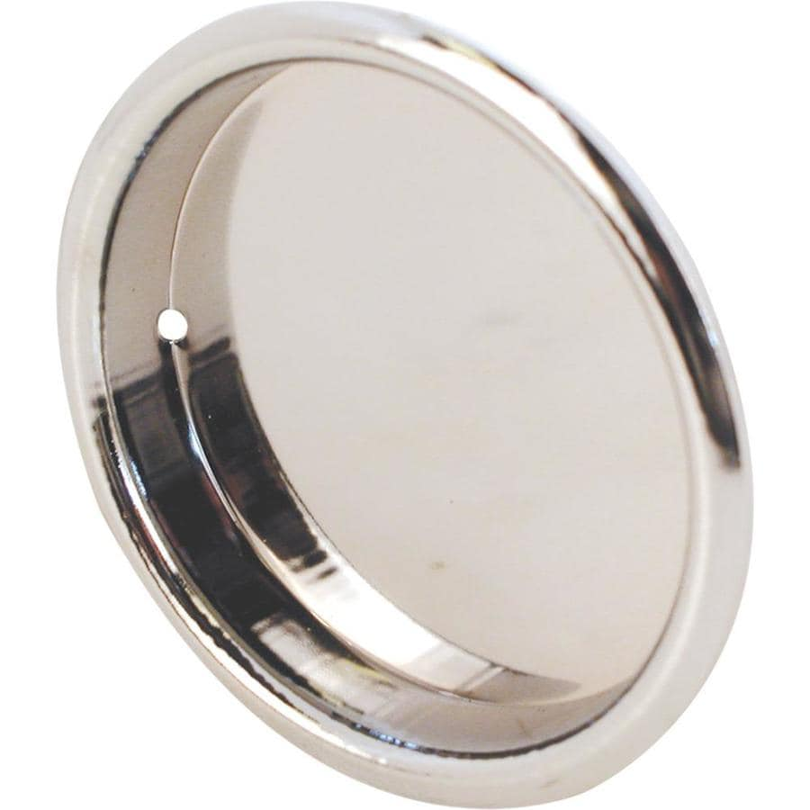 Prime Line 2 In Plated Polished Chrome Sliding Closet Door Pull