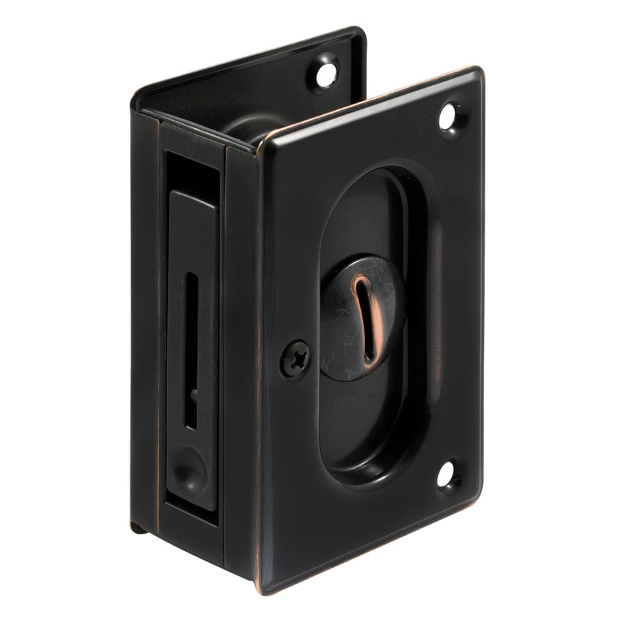 Prime Line 2 1 In Bronze Privacy Pocket Door Pull