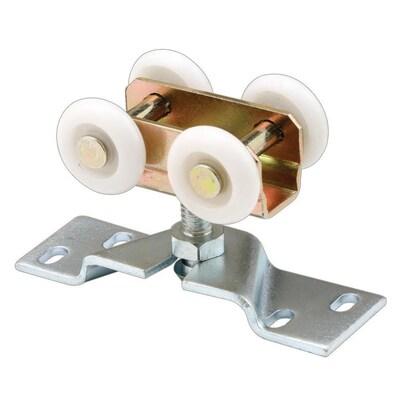 Prime Line 1 In Convex Pocket Door Roller And Bracket At