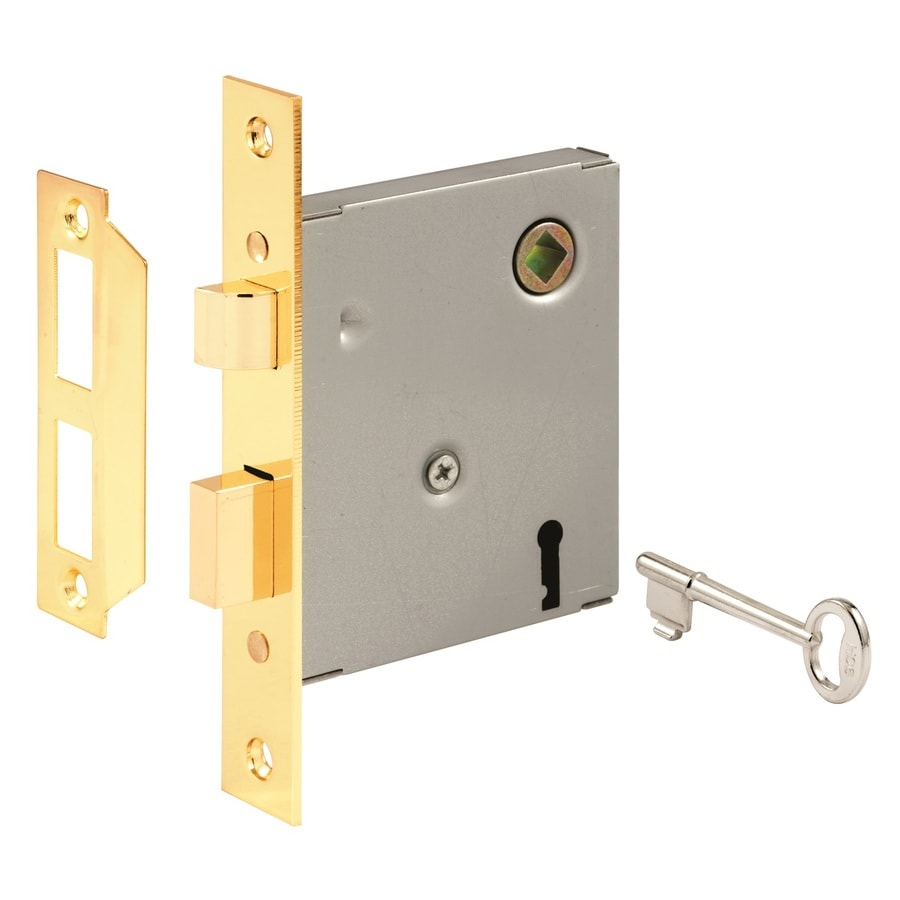 Shop Gatehouse Brass Keyed Entry Door Handleset At Lowes Com