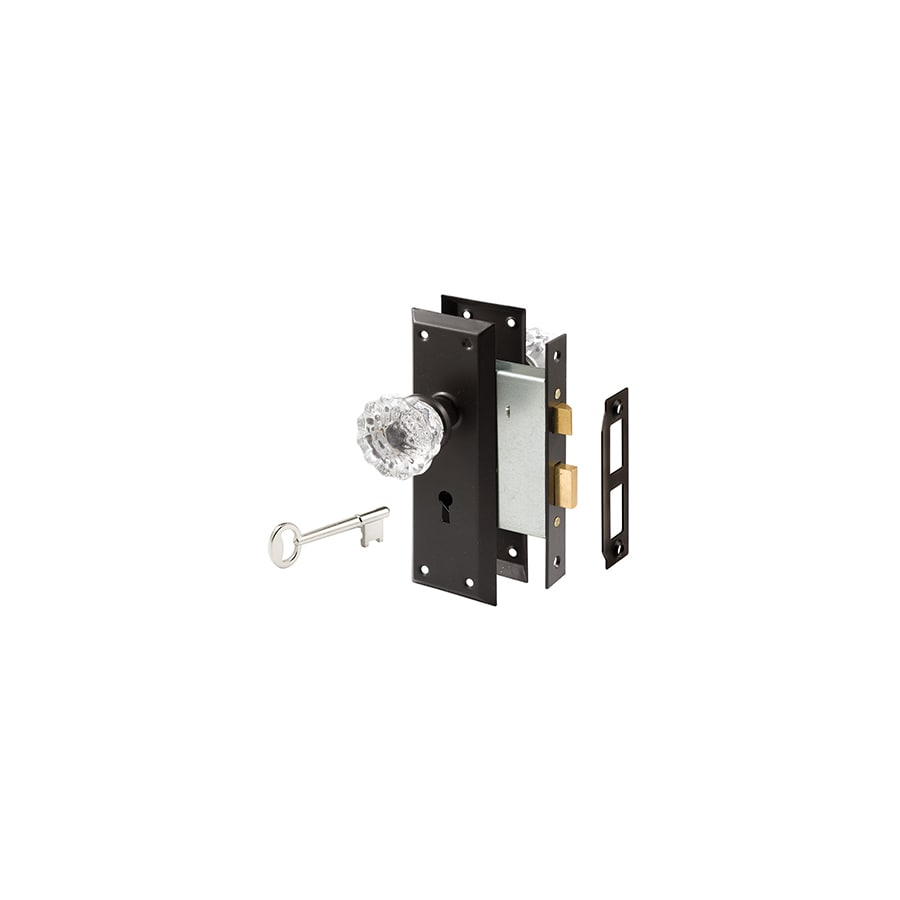 Gatehouse Classic Bronze Mortise Lock Keyed Entry Door