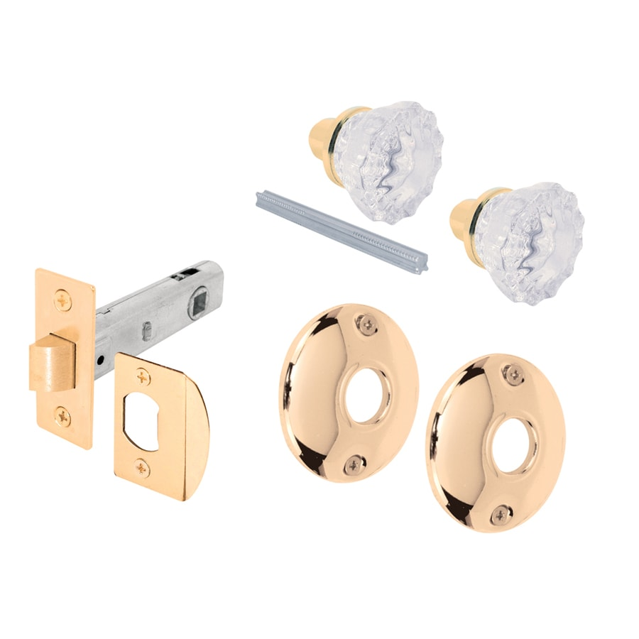 Shop Gatehouse Passage Door Latch Set, Glass Knob With Latch Bolt at ...