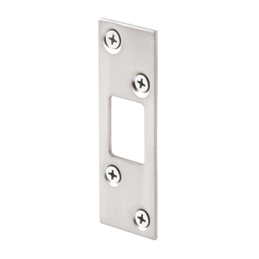 Shop Gatehouse Steel Entry Door Deadbolt Strike Plate At Lowes