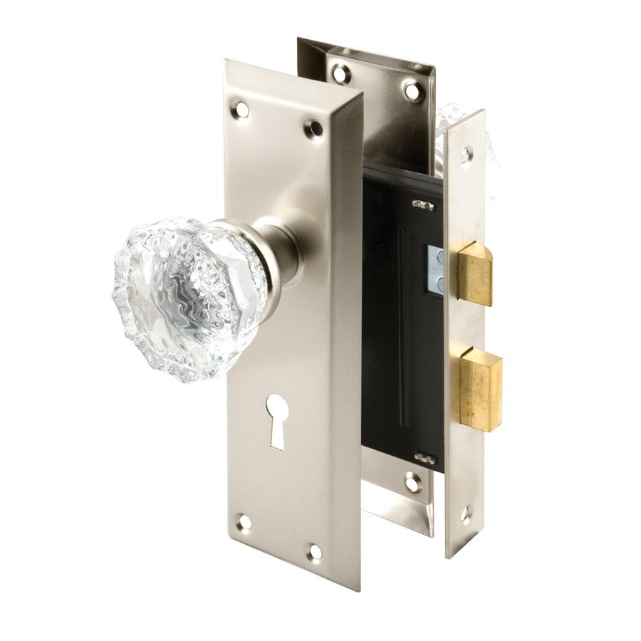 Shop Gatehouse Mortise Lock Set With Glass Knob Keyed