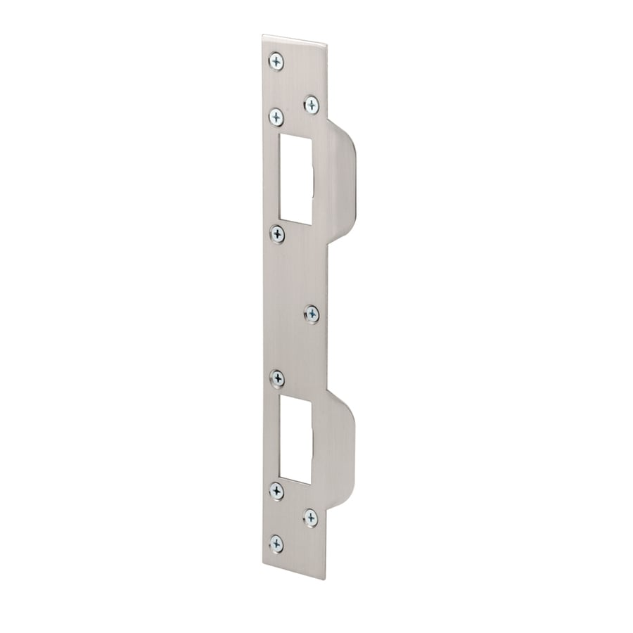 Gatehouse Steel Entry Door Strike Plate At Lowes Com