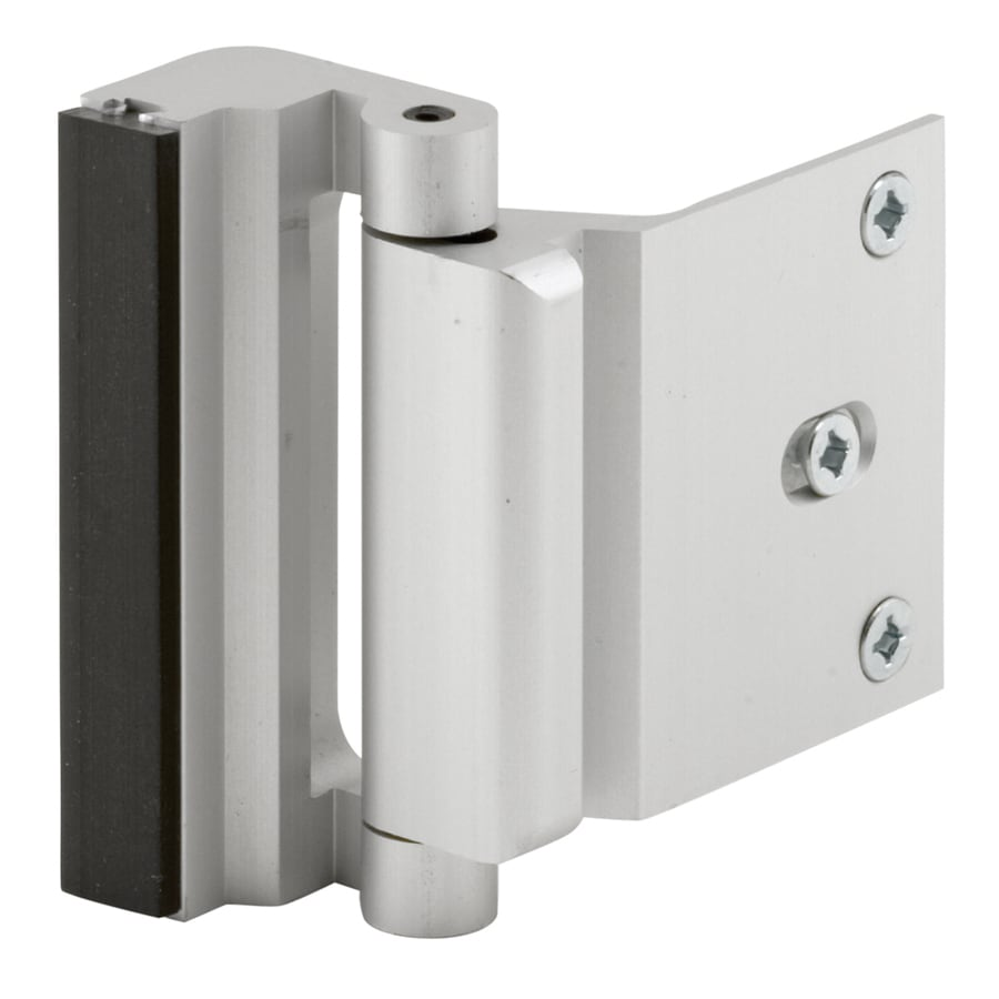 Gatehouse Door Blocker Entry Door Stop, Satin Nickel