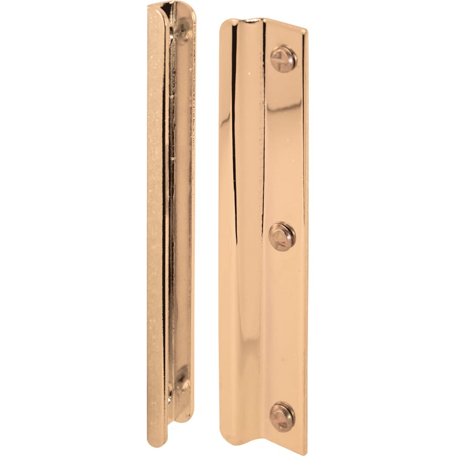 Gatehouse 6-in Brass-Plated Latch Guard In-Swing