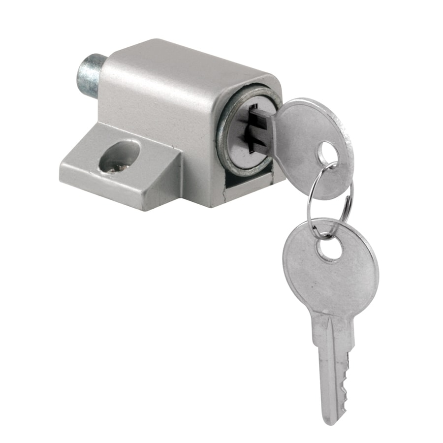 shop gatehouse push in keyed sliding patio door cylinder lock at
