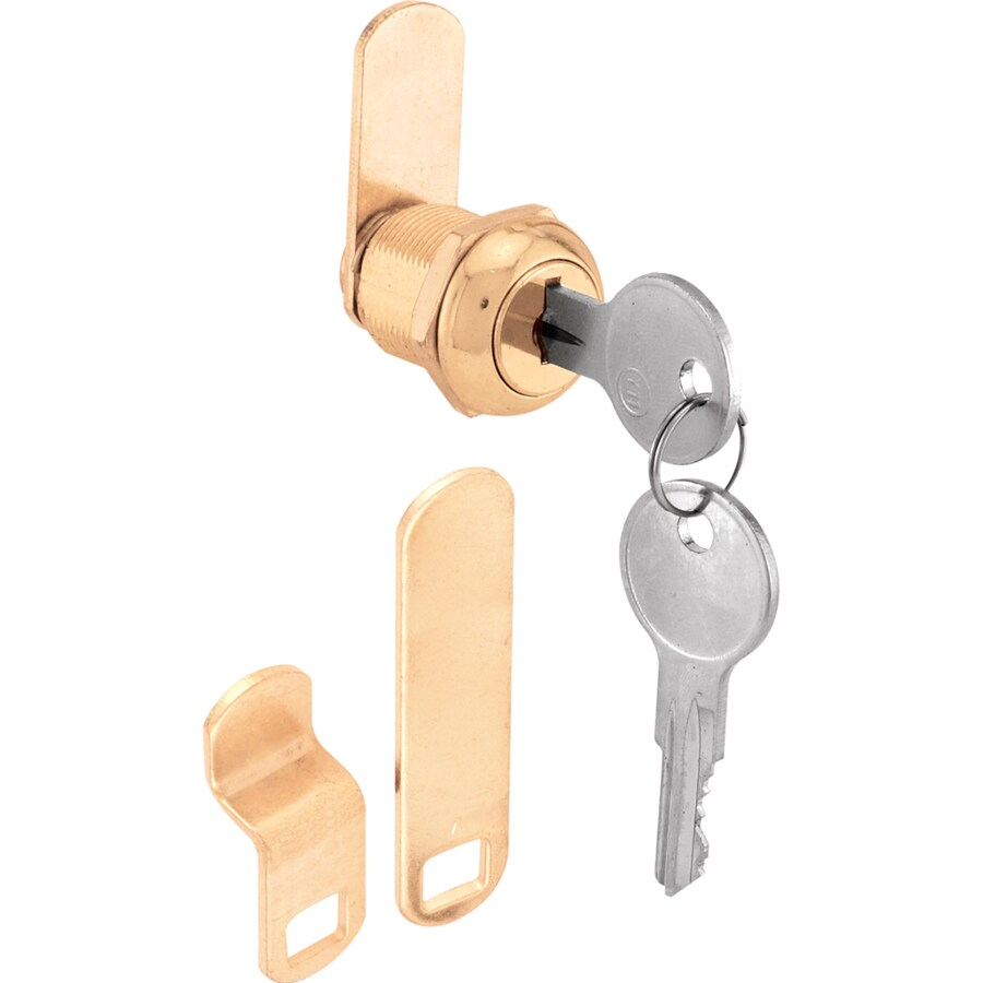 Gatehouse 5 8 In Brass Die Cast Drawer And Cabinet Lock At