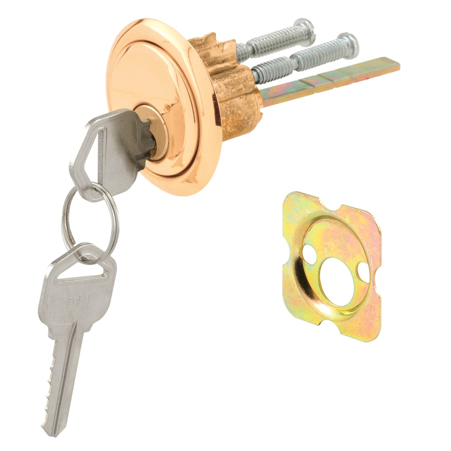 Gatehouse Die-Cast Screen Door & Storm Door Cylinder Lock