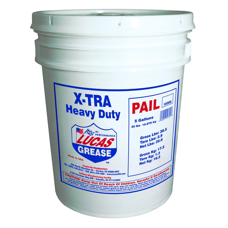 Lucas Oil Products 35-lb Xtra-Heavy Duty Grease Pail