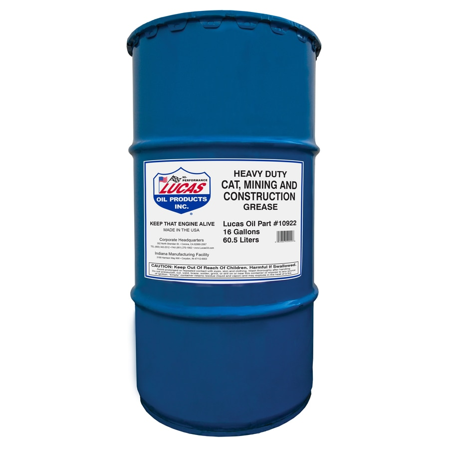 Lucas Oil Products 120-lb Heavy Duty Cat Mining and Construction Grease Keg
