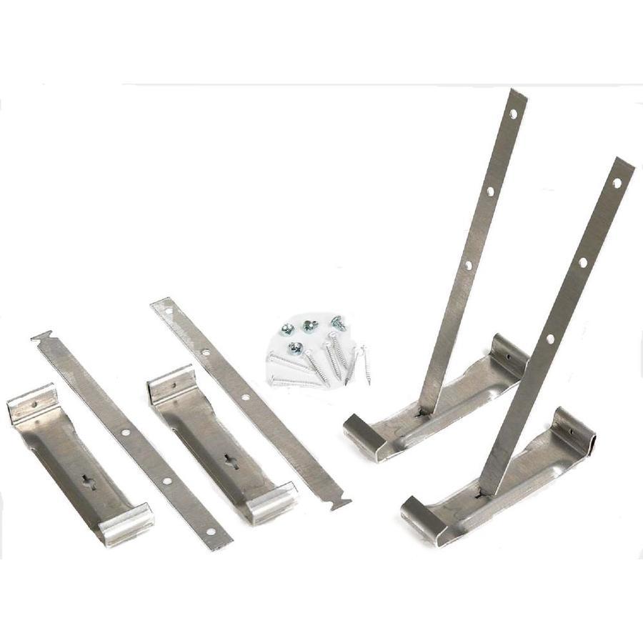 Amerimax Galvanized Steel Gutter Hidden Hanger