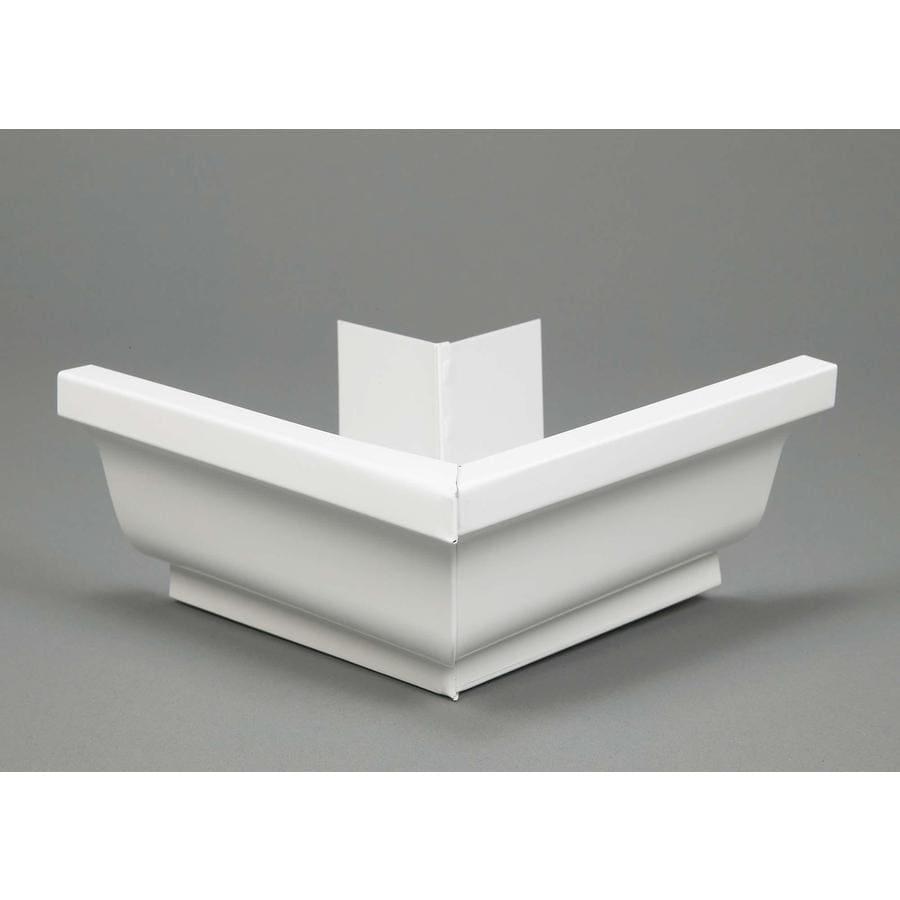 Amerimax Professional Grade 5-in x 7.5-in K Style Gutter Outside Corner