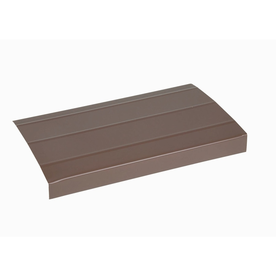 Amerimax 6-in x 12-ft Musket Brown Smooth Aluminum Fascia