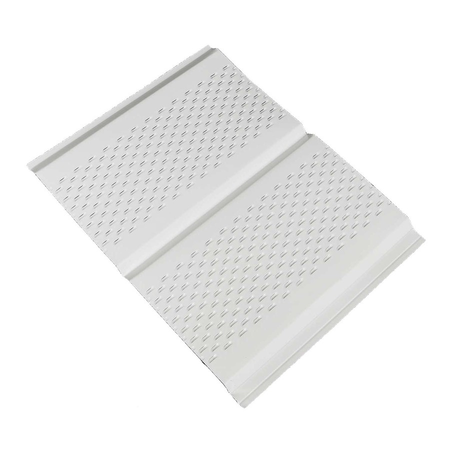 Amerimax 13 in x 144 in White Soffit  Shop Soffit at Lowes com. Lowes Soffit