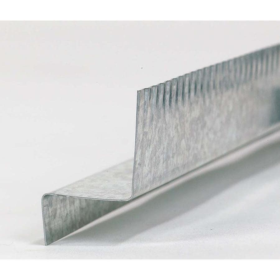 0.625-in x 10-ft Galvanized Steel Drip Edge