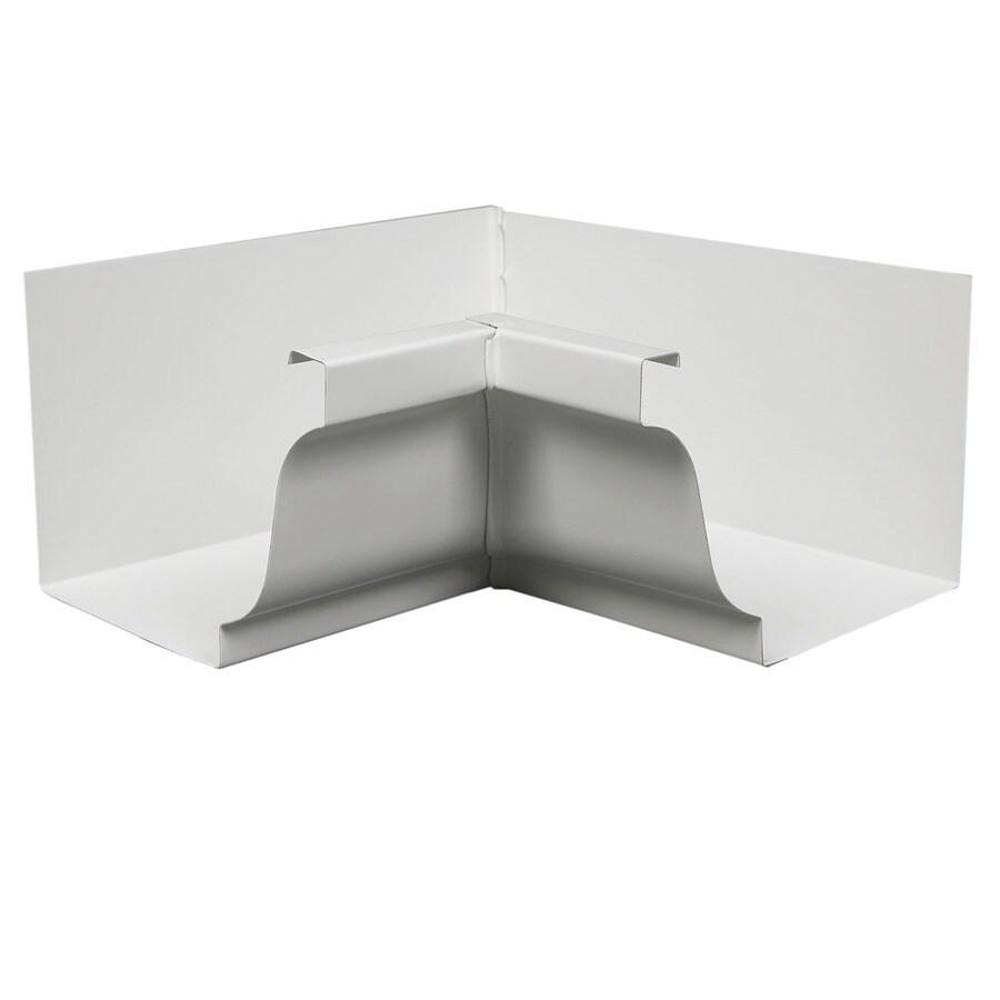 Amerimax 4-in x 7.25-in K Style Gutter Inside Corner