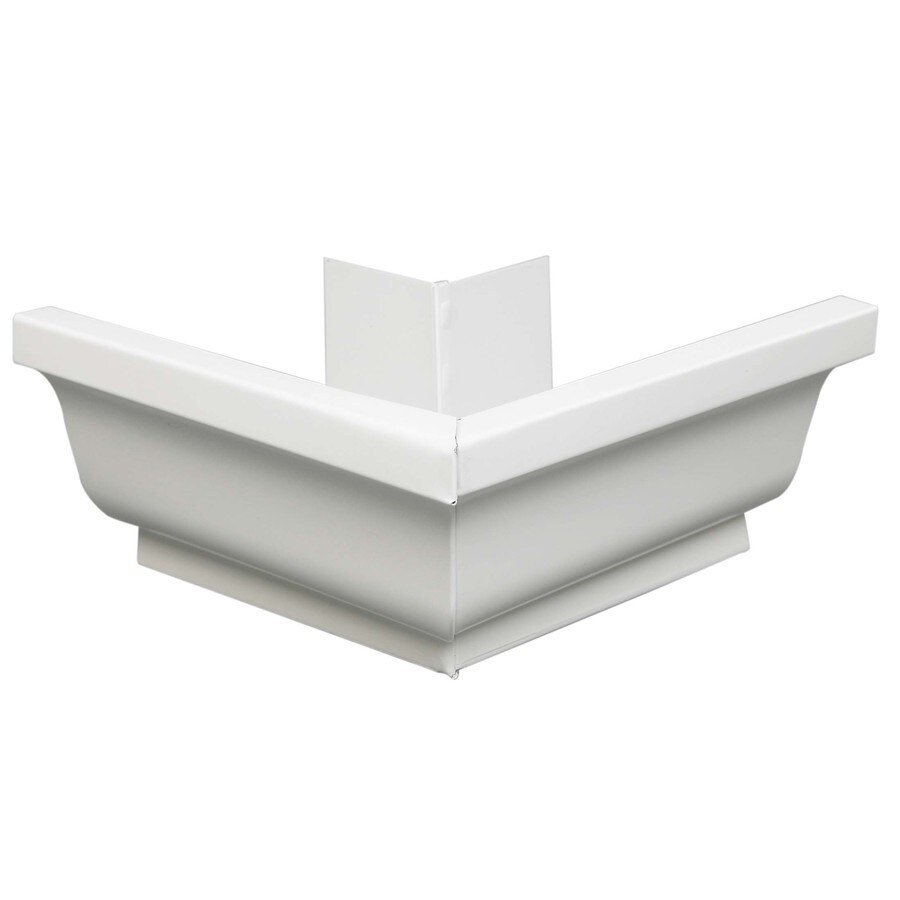 Amerimax 4-in x 7.25-in K Style Gutter Outside Corner