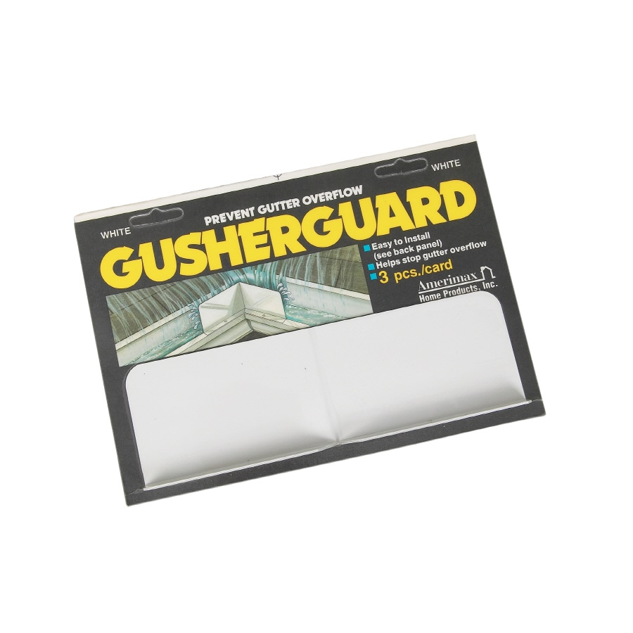 Amerimax Gusher Guard Aluminum Gutter Shield