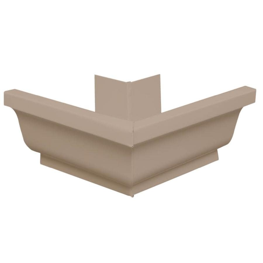 Amerimax 7.25-in x 7.25-in K Style Gutter Outside Corner