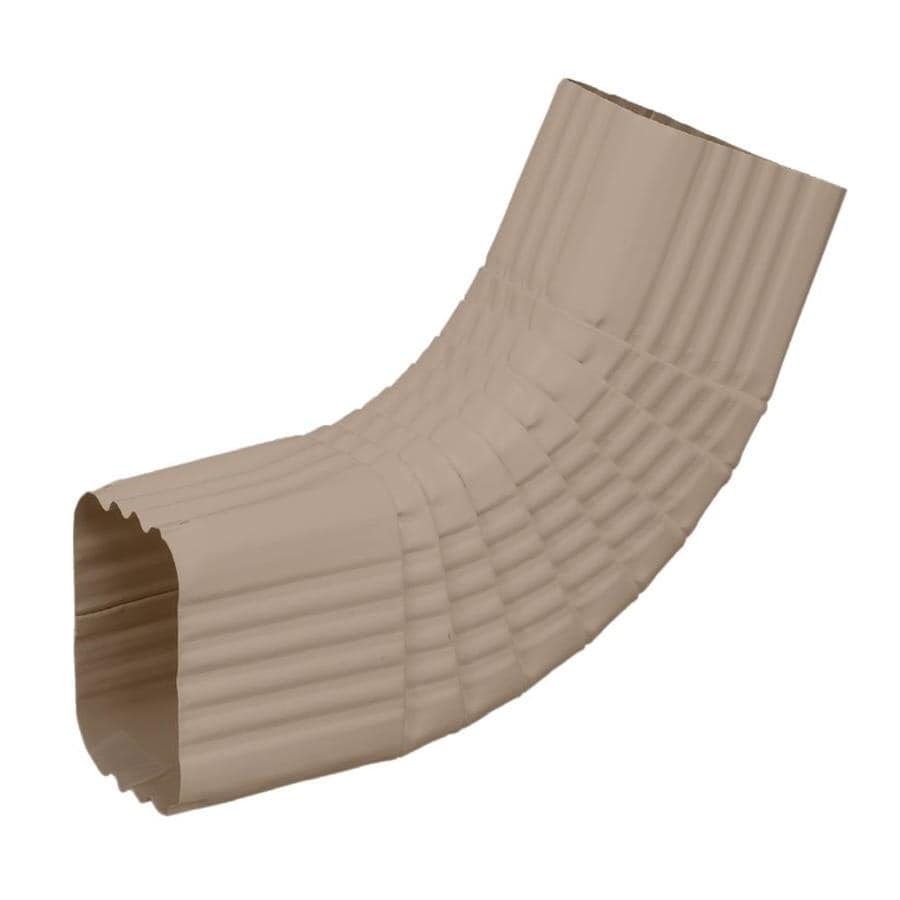 Amerimax 2.25-in Natural Clay Aluminum Side Elbow