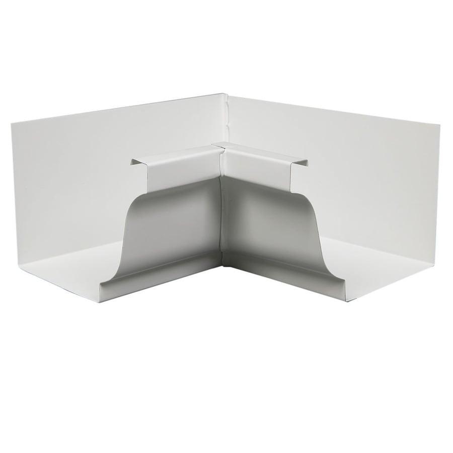 Amerimax 6-in x 10.25-in K Style Gutter Inside Corner