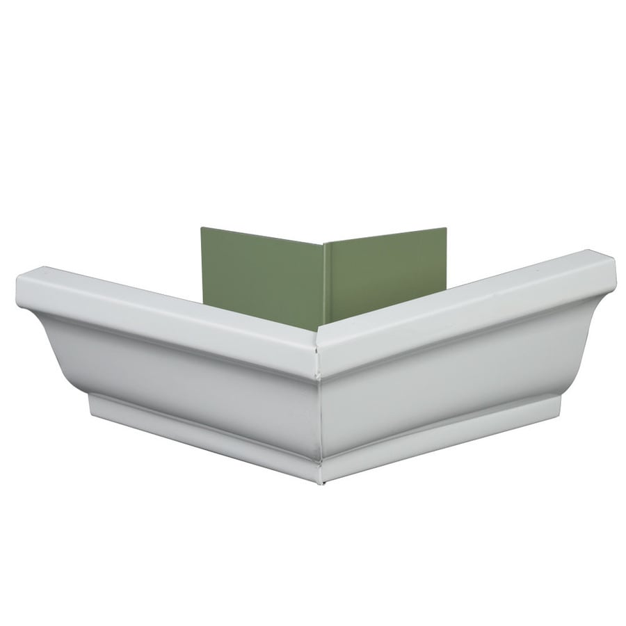 Amerimax 10-in x 10.25-in K Style Gutter Outside Corner