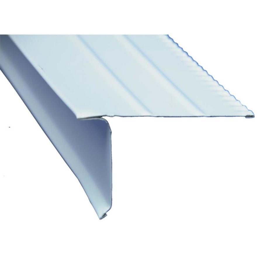 Amerimax F5-1/2 S 2.35-in x 10-ft Aluminum Drip Edge