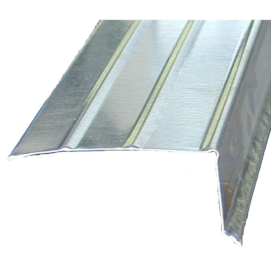 Amerimax C3 2 In X 10 Ft Galvanized Steel Drip Edge At