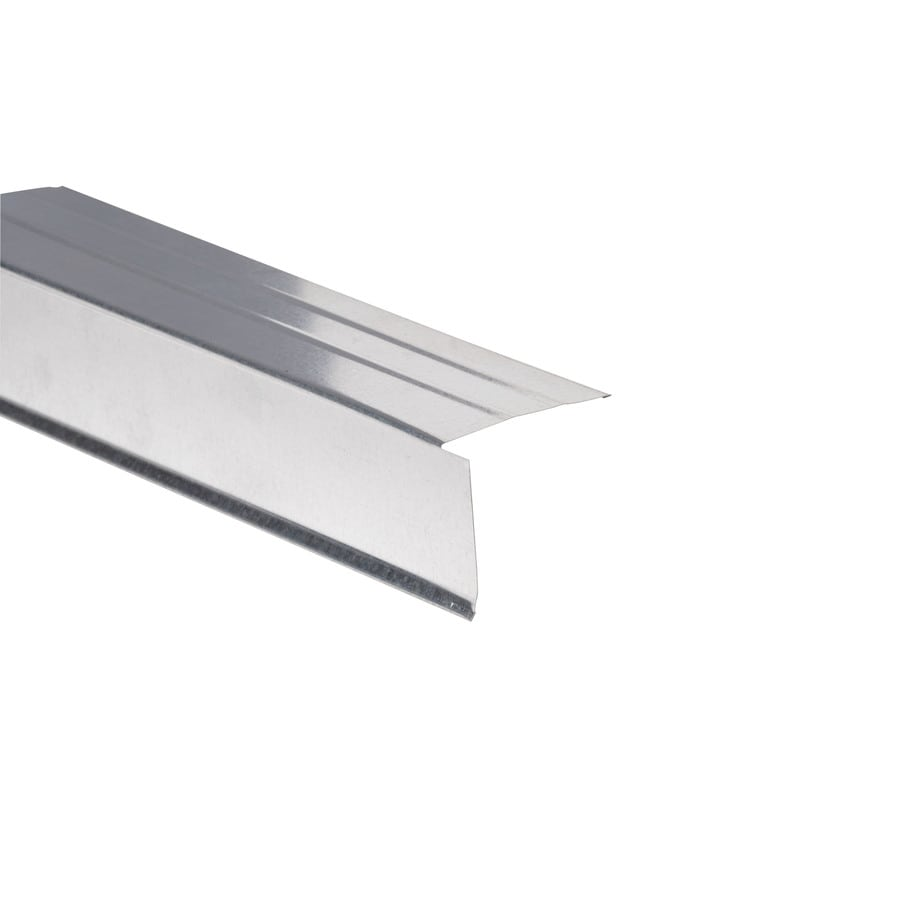 Amerimax F4-1/2 Open 2.5-in x 10-ft Galvanized Steel Drip Edge