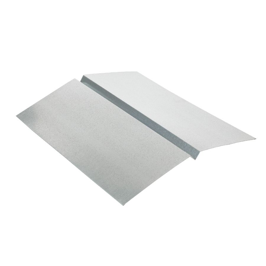 Amerimax W Valley 20-in x 10-ft Galvanized Steel Sheet Flashing