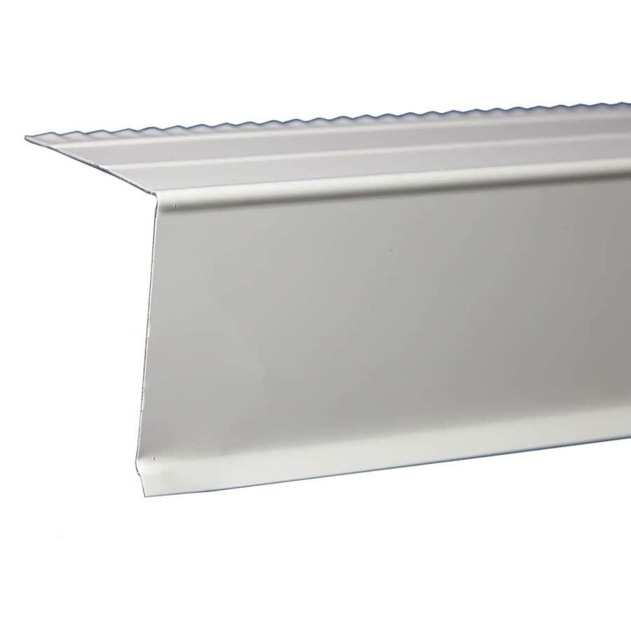 Shop Amerimax C4 2 In X Galvanized Steel Drip Edge At